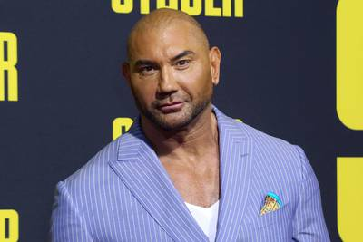 Actor Dave Bautista adopts 'horribly abused' 3-month-old puppy